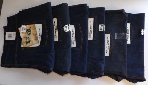 KEY AUTHENTIC REGULAR FIT JEANS Dark Wash Classic Work 48x30 48x32 52x32 56x32