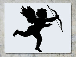 CUPID-n-ud-fleche-amour-decalcomanie-autocollant-Art-mur-image