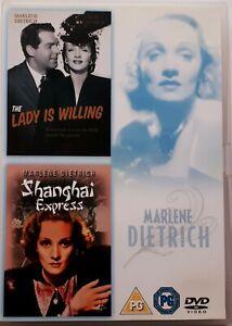 The-Lady-is-Willing-Shanghai-Express-Marlene-Dietrich-Region-2-DVD-2-Discs