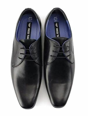 Ausdauernd Mens Red Tape - Leven - Black Leather - Chisel Toe - Derby Shoe - Work Shoe Hochwertige Materialien