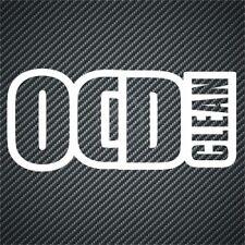 OCD Clean Funny Vinyl Car Sticker Decal Van Graphics Bumper Stickers JDM