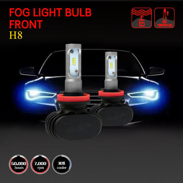 H8 2 PCS Fog Light Bulb Fits 2007-2008 Acura TL 2013-2016
