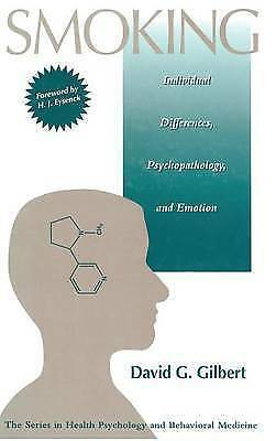 Smoking: Individual Differences, Psychopathology, And Emotion (Series in Health
