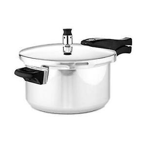 Casa essentials aluminum pressure cooker pots kitchenware 5 quart.