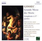 Gossec - Grande Messe Des Mortes Symphonie À 17 Parties Roberta Invernizzi AUDI