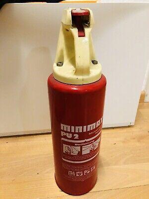 Bauschaum Minimax Pu2 Feuerlöscher Perfekt Für Oldtimer ❗️ Hell Und Durchscheinend Im Aussehen