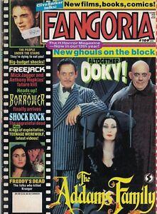 1992 Fangoria Horror #109 Freddys Dead Adams Family Wes Craven Freejack Cohen 1A - Wien, Österreich - 1992 Fangoria Horror #109 Freddys Dead Adams Family Wes Craven Freejack Cohen 1A - Wien, Österreich