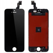 Black Touch Screen Digitizer + LCD Display Assembly for iPhone 5 Replacement US