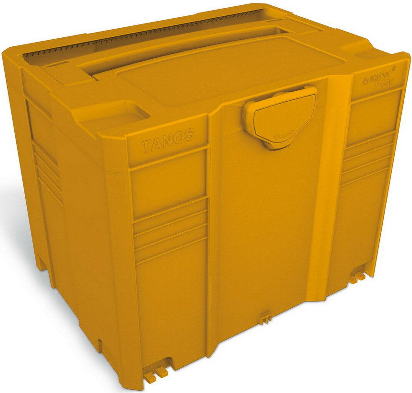 TANOS Systainer T-Loc SYS TL 3 Grau Anthrazit Rot Orange Gelb Grün Blau Schwarz