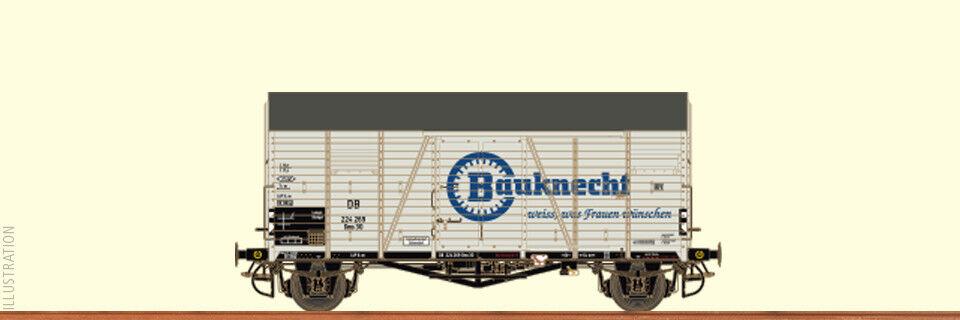 Brawa 47928 goods wagon Closed GMS 30 Opole  Bauknecht  DB EP HO NEW