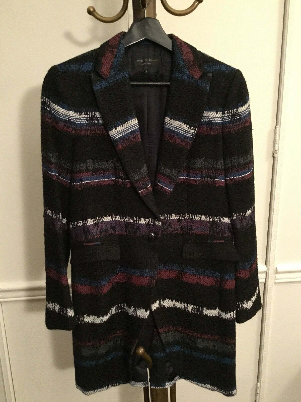 Rag & Bone Multi-Color Short Coat/ Long Blazer, S - image 1