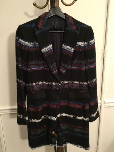 Rag & Bone Multi-Color Short Coat/ Long Blazer, S
