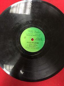WALLY-FOWLER-78-RPM-RECORD-GOSPEL-QUARTET-1006-THE-FUNERAL-I-039-LL-BE-NO-STRANGER