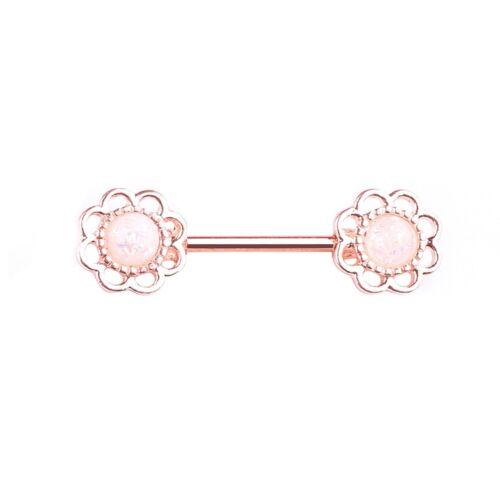 Nipple Bar Ring Piercing Nipple Barbell Shield Dangle Surgical Steel Gem Jewelry
