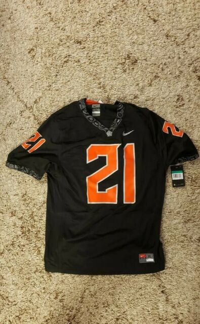 Nike Oklahoma State Cowboys Barry Sanders Football Jersey Size XL #21 H1