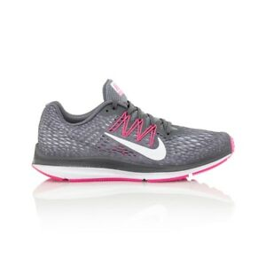 sports shoes a23d1 a378e Details about Nike Air Zoom Winflo 5 Women's shoe - Dark Grey/Cool  Grey/Wolf Grey/White