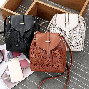 fffdae608b6b Image is loading Women-Leather-Handbag-Shoulder-Lady-Crossbody-Bag-Tote-