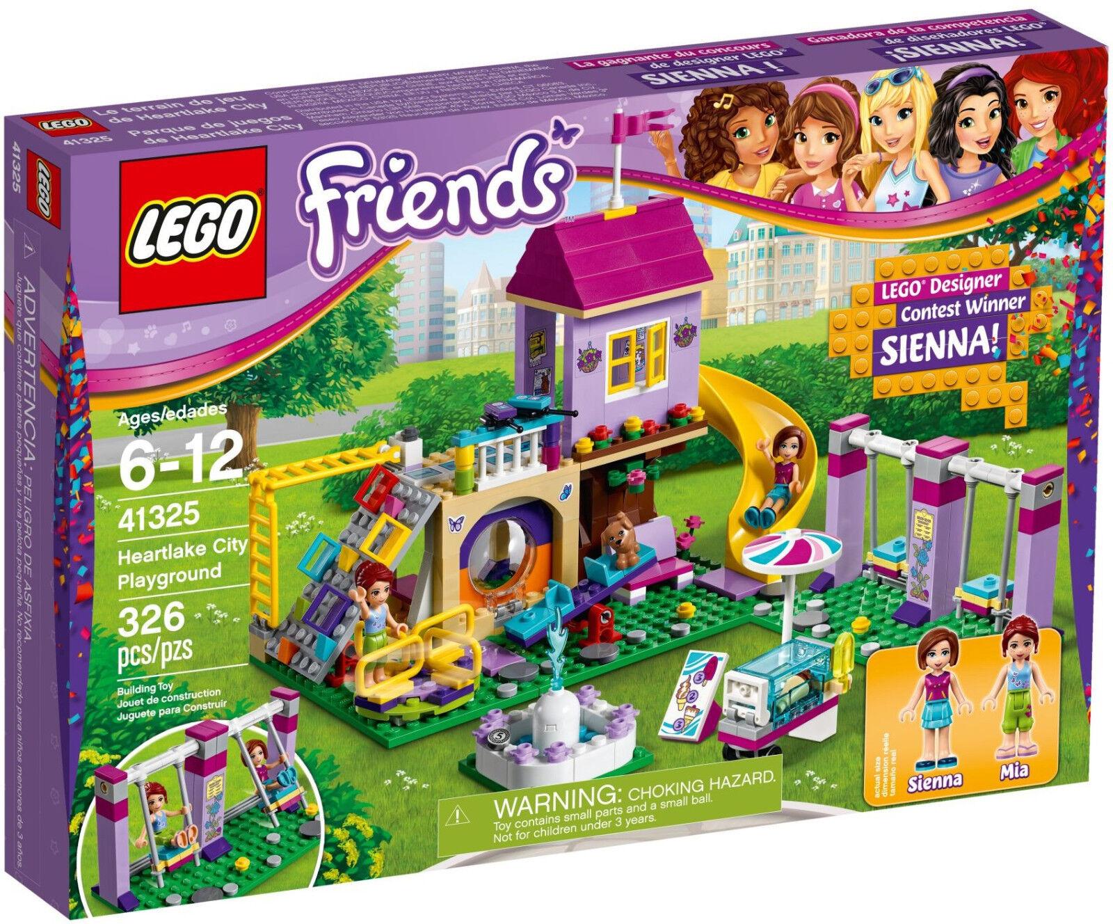 Lego Friends - 41325 Heartlake City Terrain de jeu avec avec avec Sienna-NOUVEAU & NEUF dans sa boîte c6e824