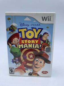 Toy Story Mania Nintendo Wii Game No Manual Tested