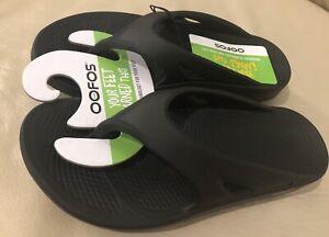 Oofos Original Recovery Black Unisex