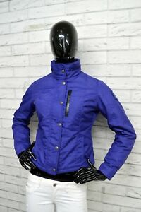 Giubbino-REFRIGUE-Donna-Taglia-S-Giubbotto-Giacca-Jacket-Woman-Coat-Zip-Viola