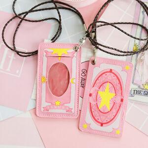Kawaii cardcaptor sakura kinmoto bus pass card holder business card image is loading kawaii cardcaptor sakura kinmoto bus pass card holder colourmoves