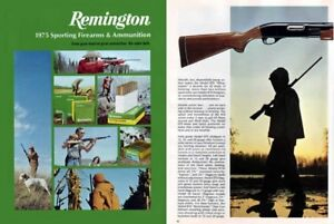 Details about Remington 1975 Firearms Catalog