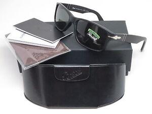 1f8ea2038d03 Persol PO 3154-S 1042/58 Matte Black Polarized Sunglasses 3154S 58mm ...