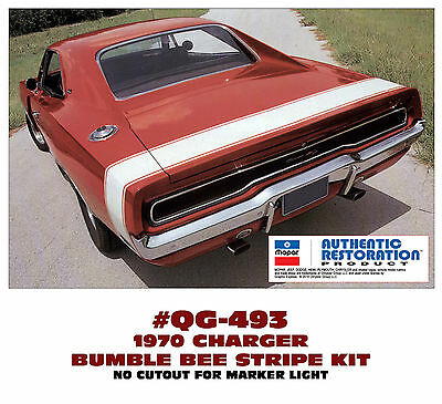 TWO DECALS 440 or HEMI HOOD DECAL SET QG-530 QG-506 1970 DODGE CHARGER