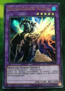 Invoked Raidji Beschworener Raidjin BLAR-DE081 YUGIOH! Ultra Rare Near Mint