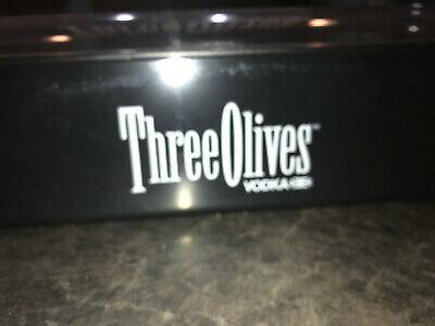 NEW Three Olives Vodka Bar Condiment Garnish Caddy Fruit Tray 6 compartment