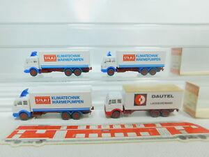 BO846-0-5-4x-Wiking-H0-1-87-LKW-MB-18451-Dautel-Stulz-sehr-gut-2x-OVP