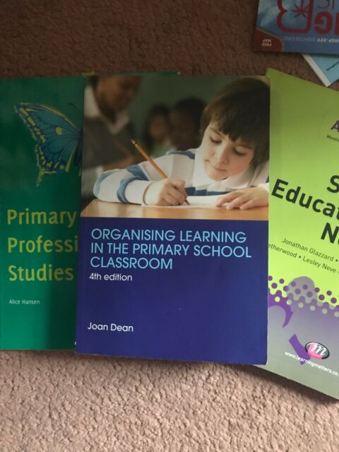 Perfect Pack of Primary Teaching Books- Classroom management and S.E.N