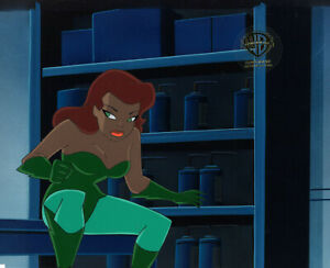 Batman Animated Series Original Production Cel Poison Ivy-House and Garden
