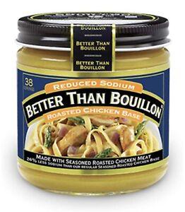 16 Oz Size Better Than Bouillon Organic Roasted Chicken Base Reduced Sodium 98308217114 Ebay