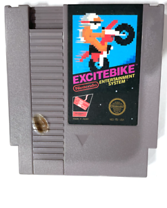 ***Nintendo NES Excitebike Video Game Cartridge *Authentic* *Cleaned/Tested*