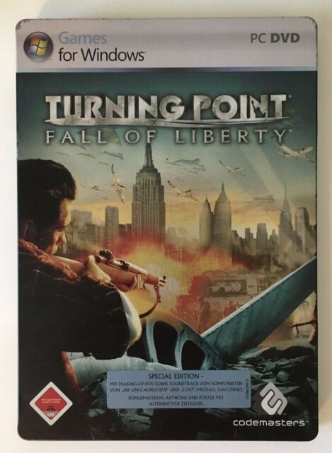 Turning Point: Fall Of Liberty — Special Edition — Steelbook — PC — DVD — Box