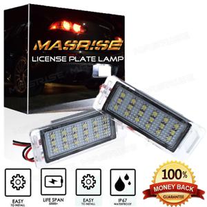 NUMBER-LICENSE-PLATE-LIGHT-For-Chevrolet-Cruze-2009-2014-Camaro-2010-2013
