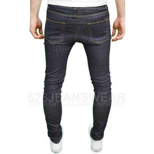 BNWT Aztec Men/'s Designer Stretch Skinny Fit Straight Leg Jeans