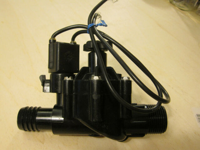 """Weathermatic BlackBullet MAX In-Line Valve with Flow Control 1/"""" FPT USED"""