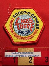 Vtg 1971 BAC BSA Boy Scout Patch Baltimore Maryland Timonium Fairgrounds 63DD