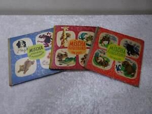 3 x DDR Kinderbuch Mischa Kugelrund - Vintage