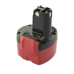 Batteria-Ni-Cd-9-6V-2-0Ah-19Wh-di-Ricambio-Bosch-Sostituisce-BAT-048-BAT-049
