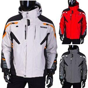 FREESTEP-9149-Herren-Skijacke-Snowboardjacke-Winterjacke-Sportjacke-4D4-Warme