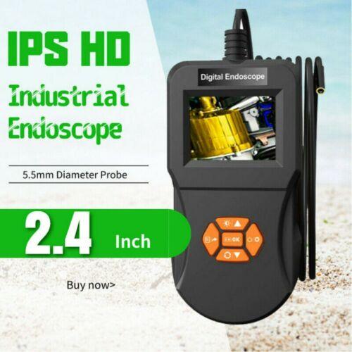 2,4 Zoll Endoskop 5.5mm Inspektionskamera Video-Endoskopkamera 5M Schwanenhals