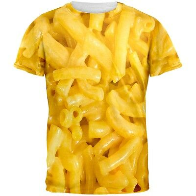 Mac and cheese All Over Adult T-Shirt