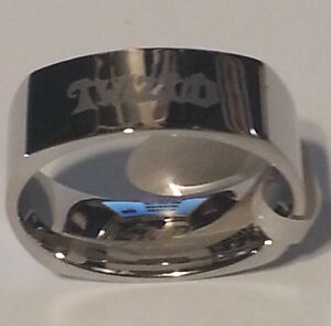 TWIZTID MOSTASTELESS RING STAINLESS STEEL ICP INSANE CLOWN POSSE
