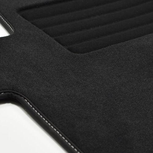 2020 sw MP Premium Velour Fußmatten passend für VW T6.1 Multivan vorn ab Bj