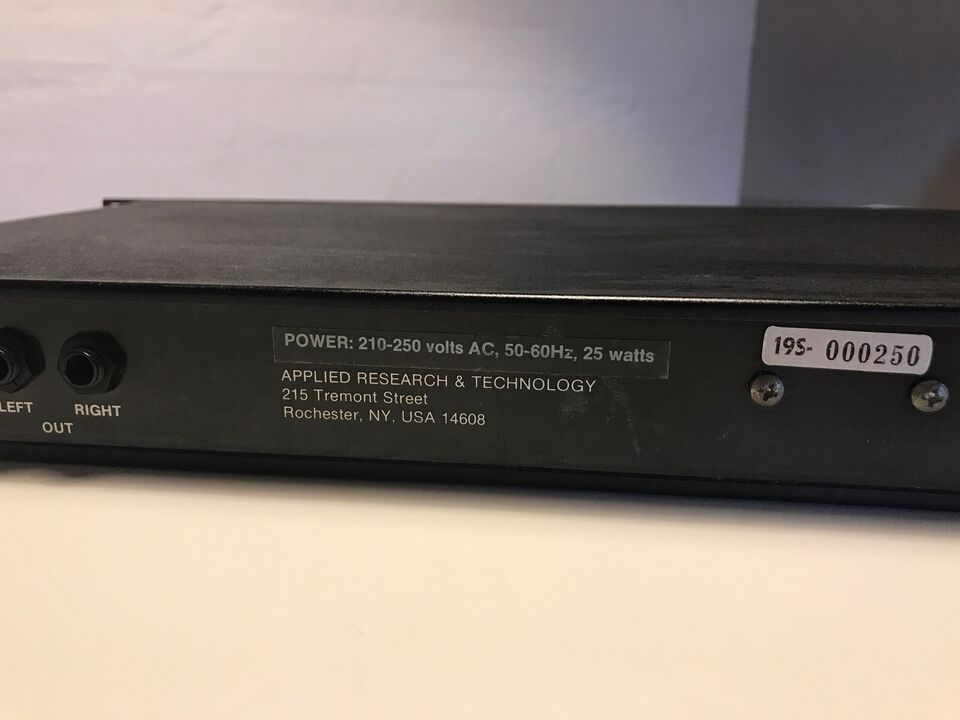 Digital reverberation system, Art DR2-a Art DR2-a