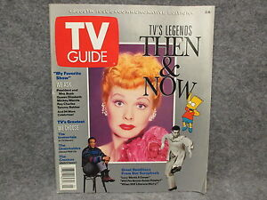 tv guide 2000th issue commemorative edition july 27 august 2 1991 then now ebay. Black Bedroom Furniture Sets. Home Design Ideas